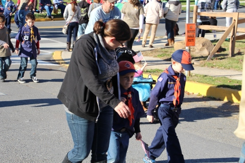 Carbon County Veterans Day Parade, Jim Thorpe, 11-8-2015 (211)