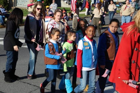 Carbon County Veterans Day Parade, Jim Thorpe, 11-8-2015 (230)