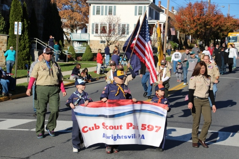 Carbon County Veterans Day Parade, Jim Thorpe, 11-8-2015 (233)