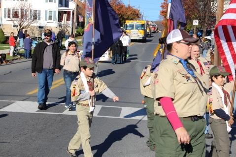 Carbon County Veterans Day Parade, Jim Thorpe, 11-8-2015 (241)