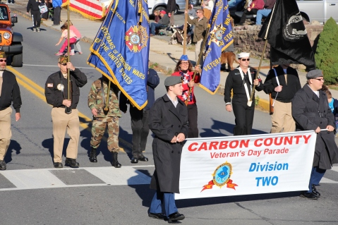 Carbon County Veterans Day Parade, Jim Thorpe, 11-8-2015 (284)
