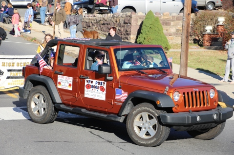 Carbon County Veterans Day Parade, Jim Thorpe, 11-8-2015 (292)
