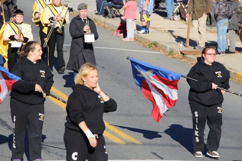 Carbon County Veterans Day Parade, Jim Thorpe, 11-8-2015 (303)