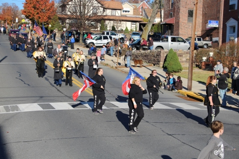 Carbon County Veterans Day Parade, Jim Thorpe, 11-8-2015 (306)