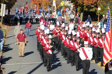 Carbon County Veterans Day Parade, Jim Thorpe, 11-8-2015 (501)