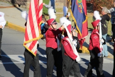 Carbon County Veterans Day Parade, Jim Thorpe, 11-8-2015 (508)