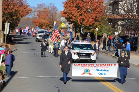 Carbon County Veterans Day Parade, Jim Thorpe, 11-8-2015 (8)