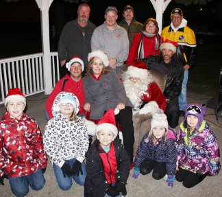 Christmas in the Park, via Lansford Alive, Kennedy Park, Lansford, 11-28-2015 (247)