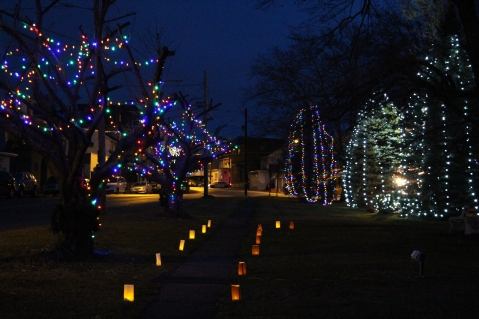 Christmas in the Park, via Lansford Alive, Kennedy Park, Lansford, 11-28-2015 (48)