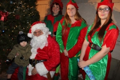 Coaldale Holiday Tree Lighting, Via C.H.O.S.E., Borough Hall, Coaldale, 11-29-2015 (63)
