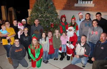 Coaldale Holiday Tree Lighting, Via C.H.O.S.E., Borough Hall, Coaldale, 11-29-2015 (84)