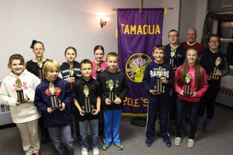 Elks Hoop Shoot Winners, Tamaqua Elks Lodge BPOE 592, Tamaqua, 11-23-2015 (2)