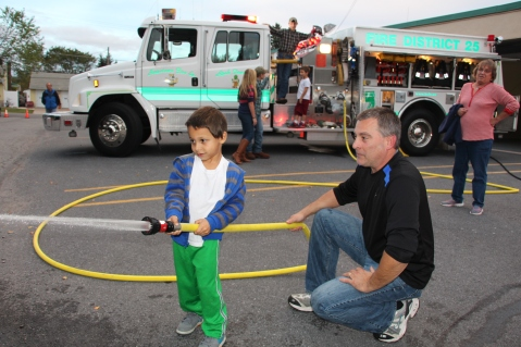 Fire Prevention and Awareness, Open House, Hometown Fire Company, Hometown, 10-6-2015 (1)