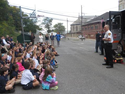 Fire Safety Week, from Facebook page, Our Lady Of Angels Academy, Lansford, 10-7-2015 (1)