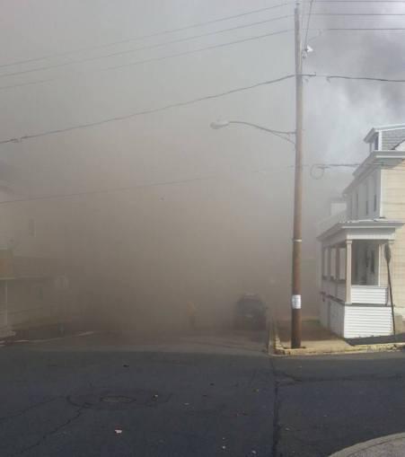 Four Homes Damaged by Fire, Walnut Street, from David Berk, Ashland, 11-6-2015 (1)