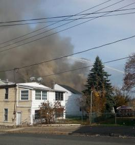 Four Homes Damaged by Fire, Walnut Street, from David Berk, Ashland, 11-6-2015 (2)