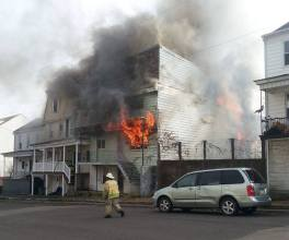 Four Homes Damaged by Fire, Walnut Street, from David Berk, Ashland, 11-6-2015 (3)