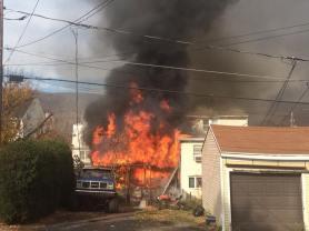 Four Homes Damaged by Fire, Walnut Street, from Katie Schreck, Ashland, 11-6-2015 (1)