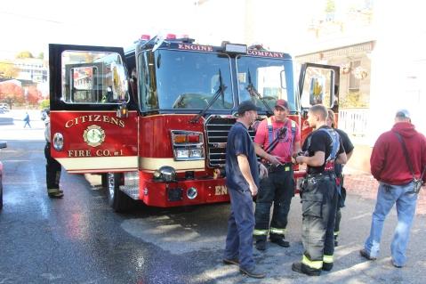 House Fire, 208 Biddle Street, Tamaqua, 11-4-2015 (79)