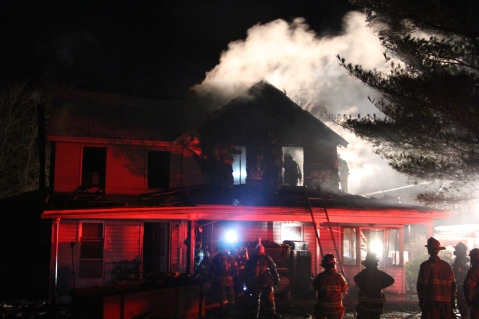 House Fire, 252 Hillside Drive, Barnesville, 11-22-2015 (29)