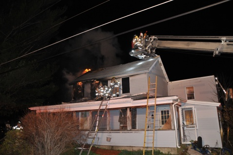 House Fire, 252 Hillside Drive, Barnesville, 11-22-2015, from Coal Region Barrett (10)