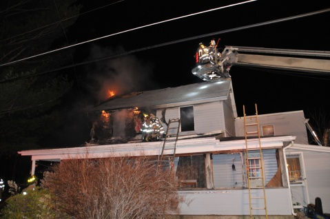 House Fire, 252 Hillside Drive, Barnesville, 11-22-2015, from Coal Region Barrett (13)