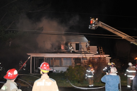 House Fire, 252 Hillside Drive, Barnesville, 11-22-2015, from Coal Region Barrett (21)