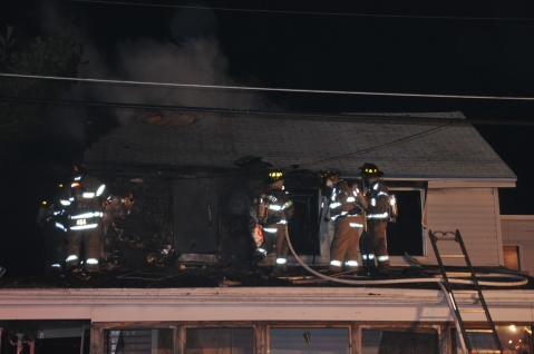 House Fire, 252 Hillside Drive, Barnesville, 11-22-2015, from Coal Region Barrett (35)
