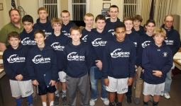Junior High Football Team Recognized, Tamaqua Borough Council Meeting, Borough Hall, Tamaqua (14)