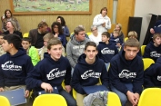 Junior High Football Team Recognized, Tamaqua Borough Council Meeting, Borough Hall, Tamaqua (26)