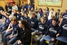 Junior High Football Team Recognized, Tamaqua Borough Council Meeting, Borough Hall, Tamaqua (3)