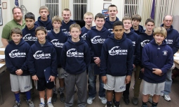 Junior High Football Team Recognized, Tamaqua Borough Council Meeting, Borough Hall, Tamaqua (7)