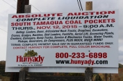 Liquidation Notice in front of South Tamaqua Coal Pockets, West Penn, 10-18-2015 (7)