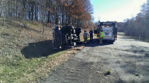 Overturned Armored Vehicle, Possible Confinement, Interstate 81, Kline Township, 11-3-2015 2