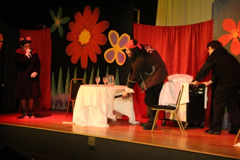 Performance of CSI Neverland, TACT, Tamaqua Community Arts Center, Tamaqua, 10-17-2015 (249)