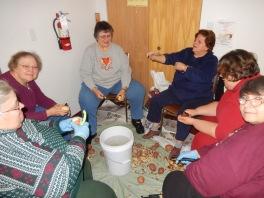 Preparing 25 Thanksgiving Day Turkeys, Salvation Army, Tamaqua, 11-23-2015 (10)