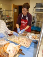 Preparing 25 Thanksgiving Day Turkeys, Salvation Army, Tamaqua, 11-23-2015 (17)