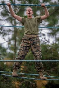 Recruit Vanessa Solt, Marine Corps Recruit Depot, Parris Island, South Carolina, 11-25-2015