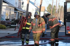 Row Home Fire, 200 block of West Sherman Street, McAdoo, 11-25-2015 (100)