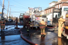 Row Home Fire, 200 block of West Sherman Street, McAdoo, 11-25-2015 (103)