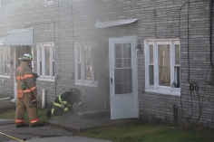 Row Home Fire, 200 block of West Sherman Street, McAdoo, 11-25-2015 (12)