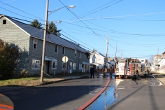 Row Home Fire, 200 block of West Sherman Street, McAdoo, 11-25-2015 (138)