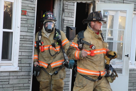 Row Home Fire, 200 block of West Sherman Street, McAdoo, 11-25-2015 (38)