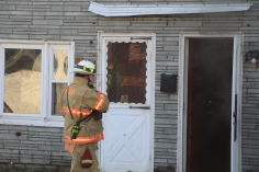 Row Home Fire, 200 block of West Sherman Street, McAdoo, 11-25-2015 (4)