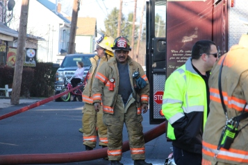 Row Home Fire, 200 block of West Sherman Street, McAdoo, 11-25-2015 (71)