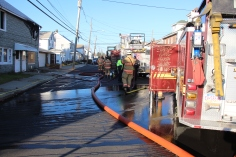 Row Home Fire, 200 block of West Sherman Street, McAdoo, 11-25-2015 (73)
