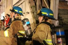 Row Home Fire, Blaze, 100 Block of Orwigsburg Street, Tamaqua, 11-21-2015 (103)