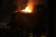 Row Home Fire, Blaze, 100 Block of Orwigsburg Street, Tamaqua, 11-21-2015 (114)