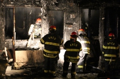 Row Home Fire, Blaze, 100 Block of Orwigsburg Street, Tamaqua, 11-21-2015 (118)