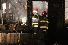 Row Home Fire, Blaze, 100 Block of Orwigsburg Street, Tamaqua, 11-21-2015 (125)